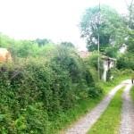 De camino,  una casa abandonada