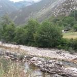 El Sella a su paso por Tornín (Cangas de Onís)