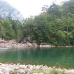Olla de San Vicente, una piscina natural en el Río Dobra (Cangas de Onís)