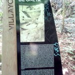 Panel de información de ruta Molinos de Oneta