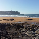 Playa de La Griega y Lastres desde las huellas (2)