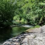 Zona descanso en el río