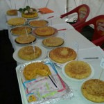 Concurso de tortillas.